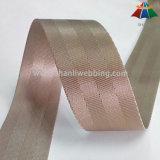 Webbing de nylon do Seatbelt de uma cor cinzenta Khaki de 1.5 polegadas