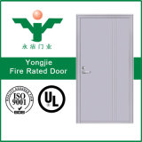 出口押し棒との木製のドアの火証拠のドアの緊急事態