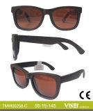 Natürliche hölzerne Sonnenbrille-Form-Sonnenbrillen mit Cer (258-A)