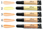 Popfeel 높은 정의 Concealer 12 다채로운 장식용 크림 Concealer