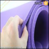 Estera cómoda de la yoga de Eco NBR del aseguramiento comercial por el SGS