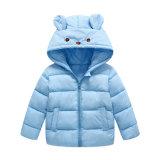 Новая милая вышитая куртка Hoody зимы младенца, оптовая одежда младенца