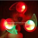 LED Light Hand Fidget Spinner Glowing Tri Spinner Fidget