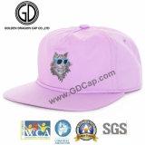 boné de beisebol liso do chapéu do Snapback da era da borda da forma 100%Acrylic nova