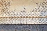 Tessuto 100% di tessile impresso del poliestere del velluto (EDM5129)
