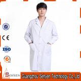 35%Cotton와 65%Polyester 백색 실험실 외투 남녀 공통 의학 실험실 외투