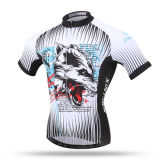 Bicicleta Jersey, roupa de ciclagem, luvas do Short do t-shirt do motociclista