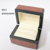 Il marchio di lusso ha stampato il contenitore di legno spostato personalizzato di documento del grano