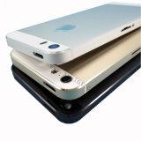 iPhone 5sの白く黒い金のための元の裏表紙のケース