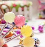 Cadena de producción automática del Lollipop de la bola