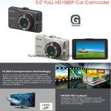 """3.0 """" TFTスクリーン、Gセンサー、5.0mega車のカメラ、170degree視野角、夜間視界、IR LED車DVR-3031が付いている新しく完全なHD1080p車のカメラ"""