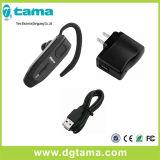 Casque Bluetooth sans fil avec microphone intégré et crochet d'oreille