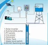 Impianto di irrigazione solare con la pompa sommergibile di CA ed invertitore solare, tecnologia di MPPT