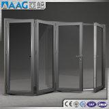 Aluminiumakkordeon-Tür