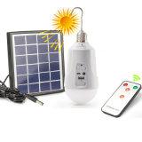 Ampoule solaire rechargeable de Dimmable E27 DEL avec à télécommande