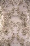Robe de mariage de ruban de collet d'illusion de sirène