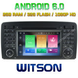 Witson Octa-Core (Eight Core) DVD de voiture Android 6.0 pour Benz R Class W251 2g ROM 1080P Touch Screen 32 Go ROM