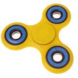 圧力救助の心配の自閉症のおもちゃの黄色の多彩なFidge手の紡績工