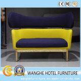 Sofa en cuir sectionnel à la maison moderne créateur
