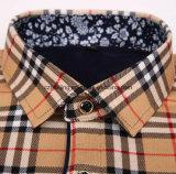 Cutton drei Farben-Männer Plaid-Hemd