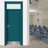 Puertas de acero revestidas del metal del precio bajo muy del polvo para la escuela