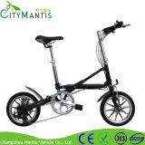 عنصر ليثيوم باردة كهربائيّة يطوي درّاجة مع إطار العجلة سمين