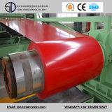 Le constructeur PPGI/Color a enduit la bobine en acier/bobine en acier galvanisée enduite d'une première couche de peinture PPGL