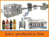 Chaîne de production d'emballage de jus de citron de machine de remplissage de bouteilles de jus
