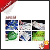 Escrituras de la etiqueta de acrílico adhesivas de la impresión