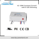 42~50W 16~40V Constant Current Dimmable LED Power Supply