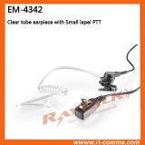 Écouteur acoustique clair de tube pour Icom IC-F3GS/IC-F43gt/IC-F31