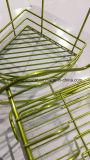 FDA 포도주 선반을%s 표준 명확한 외투 크롬 미러 녹색 분말 페인트