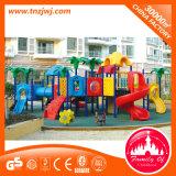 Equipo al aire libre plástico de la diapositiva del equipo del juego de los cabritos para la venta