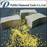 거친 절단 도구 다이아몬드 화강암 대리석 현무암 절단 세그먼트