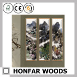 4 '' * 8 '' Chines Art Wood Picture Frame Décor mural