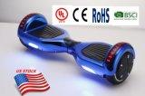 Scooter eléctrico auto-equilibrio con el altavoz Bluetooth LED