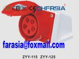 5p 32A Económica industrial de montagem em superfície soquete