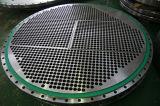 Les chicanes forées usinées de feuilles de tube d'A182 F304L ASTM A240 gr. 304L SS304 SS304L AISI 304 Supoport plaque l'acier inoxydable solides solubles 304L TubeSheets