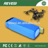 Hohes Verhältnis des China-Lieferanten-22.2V10ah der Plastik-Batterie für unbemanntes Luftfahrzeug und vorbildliches Flugzeug