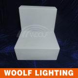 Sofá recarregável colorido do diodo emissor de luz do uso da HOME do sofá do diodo emissor de luz