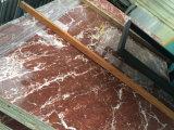 Сляб Rosso Levanto хорошего строительного материала новый мраморный большой на сбывании