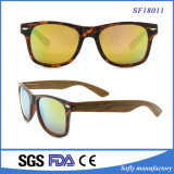 2017の新しい男女兼用の方法接眼レンズのパソコンフレームのDemiカラーサングラス