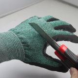 Нейлон датчика Nmsafety 18 & перчатка Glassfiber & металла отрезока Hppe тонкого упорного работая