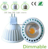 Luz do ponto do diodo emissor de luz do Ce 3W MR16 de Dimmable