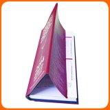 Impression estampée polychrome de livre de livre À couverture dure de couverture de carton