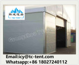 Großes Speicherzelt verwendet für Motorrad-Speicher mit Glastür-und Zwischenlage-Panel-Wand