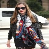 Neuer Entwurf druckte 100% die Silk Narbe für Frauen