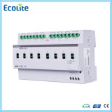 Knx 8CH 20A con il modulo di controllo corrente del relè di risposte