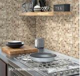 Mattonelle di mosaico di marmo di pietra naturali Polished di prezzi poco costosi sulla maglia (FYSC112-1)
