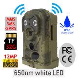 Macchina fotografica bianca della traccia di caccia di Ereagle E1c 650nm LED con il livello impermeabile di IP68